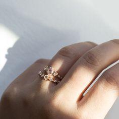 The Pavlova ring-Catbird NYC|We love all things tiny, shiny and gold.