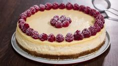 This classic cheesecake is one of the best desserts ever, rich and decadent. Hardly can anyone stop to one slice. To print the recipe check the full recipe o...