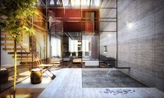 Converted Goksu Rope Factory into Lofts in Istanbul by Suyabatmaz Demirel Architects