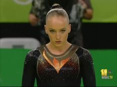 Sanne Wevers of The Netherlands on Balance Beam at the 2016 Olympics
