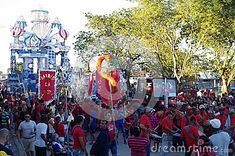 Loma district of small Cuban town Guayos drums rumba rhythm in front of their festival float during Parrandas, a traditional carnival-like street party in hold each year during Christmas in central Cuba Festivals Around The World, Cuban, Drums, Carnival, Around The Worlds, Street View, Stock Photos, Traditional, Party