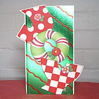 Joy Money Holder - Christmas Card