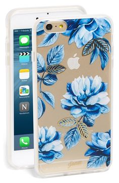 Sonix 'Indigo Floral' iPhone 6 Plus & 6s Plus Case available at #Nordstrom
