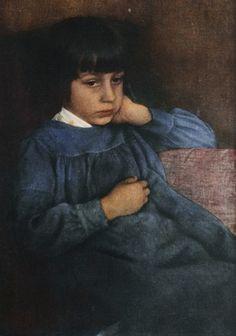 Untitled portrait of Hans Kühn ( 1907)