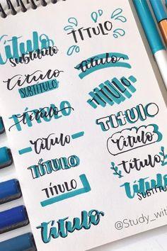 Bullet Journal Paper, Bullet Journal Headers, Bullet Journal Lettering Ideas, Journal Fonts, Bullet Journal Notebook, Bullet Journal School, Bullet Journal Ideas Pages, Bullet Journal Inspiration, Bullet Journal For Beginners
