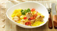 Hähnchenbrustfilet in Kardamomcreme | Ein leichtes Kochrezept: Hähnchenbrustfilet in Kardamomcreme - orientalisch gewürzt und schnell auf dem Tisch.