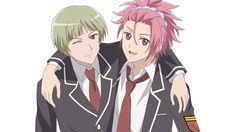 Io and Ryuu - Binan Koukou Chikyuu Bouei-bu LOVE! by てよこ on pixiv