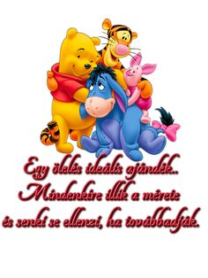 micimackó - Google keresés Emoji, Winnie The Pooh, Smurfs, Disney Characters, Fictional Characters, Zen, Quotes, Love You, Quotations