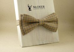 Hey, I found this really awesome Etsy listing at https://www.etsy.com/listing/281050508/brown-bow-tie-colorful-adult-bow-tie