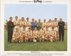 Dennis playing for Stoke City Retro Football, Football Kits, Football Cards, Typhoo, Pg Tips, Stoke City Fc, Bristol Rovers, Laws Of The Game, Association Football