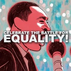 Equality is a basic human right that we strive for. Although we've made a lot of progress, there's more to be done. Celebrate the fight for equality today! #MartinLutherKingDay Be the voice of your community