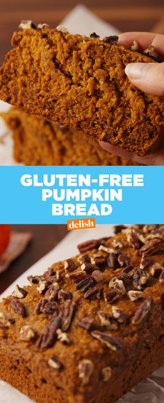 You won't believe that this Pumpkin Bread is entirely gluten-free. Get the recipe at Delish.com.