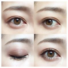 Eyeshadow is without a doubt one of the most essential makeup items. Can you even remember the last time you went out without applying it? From soft and . Makeup Inspo, Makeup Inspiration, Makeup Tips, Hair Makeup, Korean Eye Makeup, Asian Makeup, Simple Makeup, Natural Makeup, Bridal Makeup