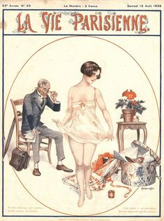 1925, France, erotica glamour la vie parisienne