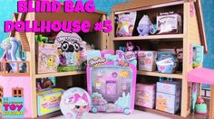 Blind Bag Dollhouse #5 Toy Review Pusheen Shopkins LOL Surprise Disney | PSToyReviews - YouTube