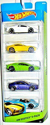 Hot Wheels Hw Exotics 5-pack Aston Martin One-77, Aston Martin V8 Vantage, Lamborghini Aventador Lp 700-4, Reventon, Porsche 918 Spyder Dubblebla http://www.amazon.com/dp/B00SMST2C4/ref=cm_sw_r_pi_dp_MpUmwb04XJ71N