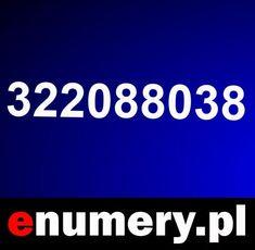 numer telefonu: 322088038