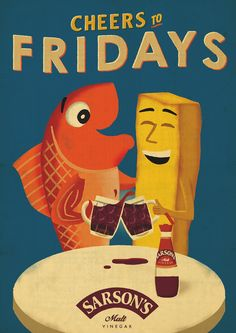 Sarson's Malt Vinegar: Pint | Ads of the World™