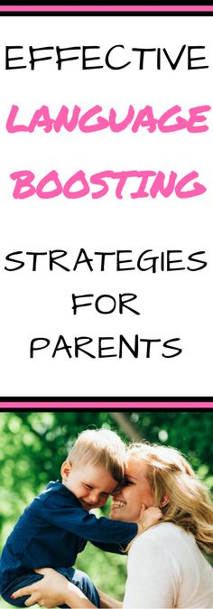 Are you looking for strategies to encourage language development in early childhood? These simple ideas and activities will help boost language skills. Autistic Toddler, Toddler Speech, Parenting Toddlers, Parenting Hacks, Autistic Children, Parenting Styles, Toddler Learning Activities, Infant Activities, Toddler Preschool