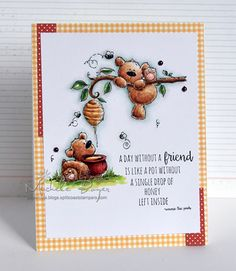 A Day without a Friend (stamping bella) (Paper Cuts by Michele Boyer)