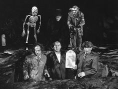 """The Three Stooges in """"Three Pests in a Mess"""" (1945)"""