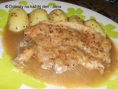 Vepřová kýta na kmíně Stew, Pork, Homemade, Chicken, Meat, Kale Stir Fry, Home Made, Pork Chops, Hand Made