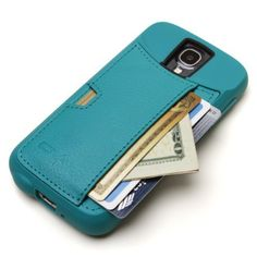 Samsung Galaxy S4 Wallet Case - CM4 Q Card Case for Galaxy S4 - Pacific Green - QS4-GREEN by CM4, http://www.amazon.com/dp/B00DR8KSI6/ref=cm_sw_r_pi_dp_AG9isb0XCGB9A