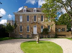 Georgian manor house in Oxfordshire