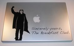 The Breakfast Club Laptop Decal Art- I NEED this!!!!