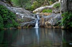 Na foto, cascata e lagoa de Drave  Jorge Vasconcelos
