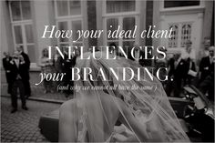 How your ideal client Influences your branding? #business #weddingphotographer #marketing #branding