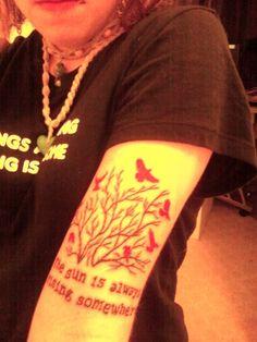 Tattoo<3 it says the sun is always rising somewhere. Tattoo~