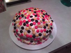 Mnm peanutbutter cake