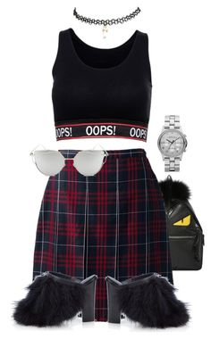 """""""Opps"""" by believeindiamonds on Polyvore featuring Fendi, Lands' End, TIBI, Wet Seal, Marc by Marc Jacobs and Chicnova Fashion"""