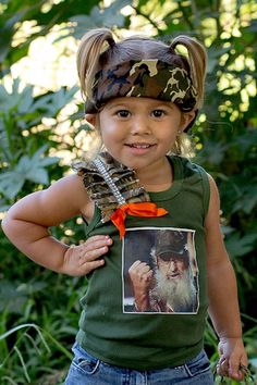 girls duck dynasty tank top uncle si infant by twistedboutique Future Daughter, Future Baby, Daddys Girl, My Baby Girl, Princess Outfits, Girl Outfits, Cute Kids, Cute Babies, Country Girl Style