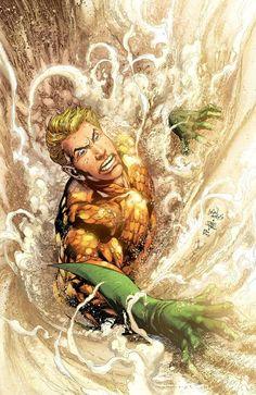 Aquaman by Ivan Reis