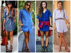 Tendência: Total jeans   Sutileza Feminina