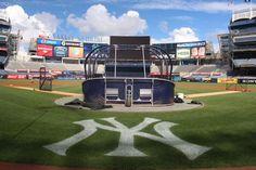 "It's a day that ends in ""-day"" so it's a perfect afternoon to be at The Stadium (08.20.2015) #Yankees #NYY  #NewYorkYankees @Yankees #LetsGoYankees"