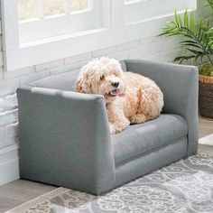 Pets are family too, so give them their own space where they can stretch, sleep and hang out like a sofa pet bed. This one has a plush fabric on the interior so your furry family members can cozy up in.