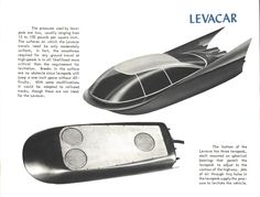 Ford 1959 concept, The Levacar