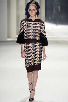 Carolina Herrera Fall 2014 RTW - Review - Fashion Week - Runway, Fashion Shows and Collections - Vogue