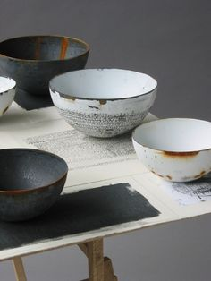 Really nice looking bowls...maybe too nice for my cereal but i'll still take 'em!