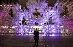 "Juxtapoz Magazine - Ai Weiwei's ""Forever Bicycle"" Installation @ Nuit Blanche, Toronto"
