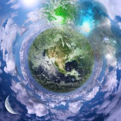 Indian Mythology stresses on the fact that the earth is the final destination