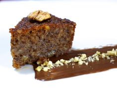 Karidopita (Greek Walnut Cake with Syrup)-1
