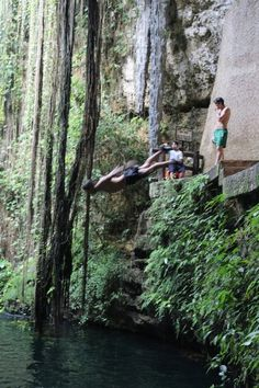 Ik Kil is a well known cenote outside Pisté in the Municipality of Tinúm, Yucatán, Mexico, It is located in the northern center of the Yucatán Peninsula and is part of the Ik Kil Archeological Park near Chichen Itza. It is open to the public for swimming and is often included in bus