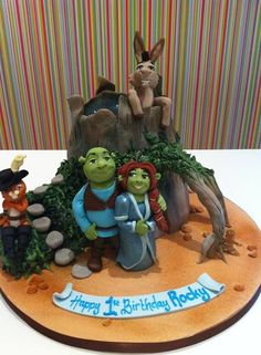 Shrek 2 #cake by Richard's Cakes. by TNBrat