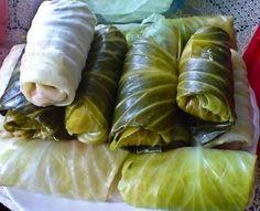 Polish food and recipes: Gołąbki (Golabki - cabbage rolls) recipe