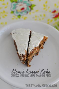 For my mother in law's birthday we asked her what kind of cake she wanted. I thought some kind of chocolate version would win for sure. She's from Switzerland and LOVES chocolate. To my surprise, she opted for carrot cake. Which is one of my favorites. Woohooo! Pin It I wish my picture did