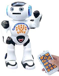 High Tech Toys Rc Robot Diy Assembled Sing Dance Gesture Sensor Action Figure Follow Robot Kids Children Educational Toys Birthday Gift Sufficient Supply